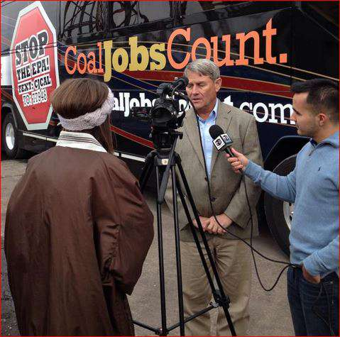 Beeker and Coal Jobs Bus