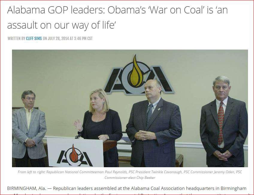 PSC at Coal Association
