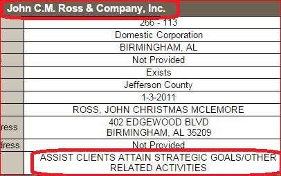 John CM Ross Sec State