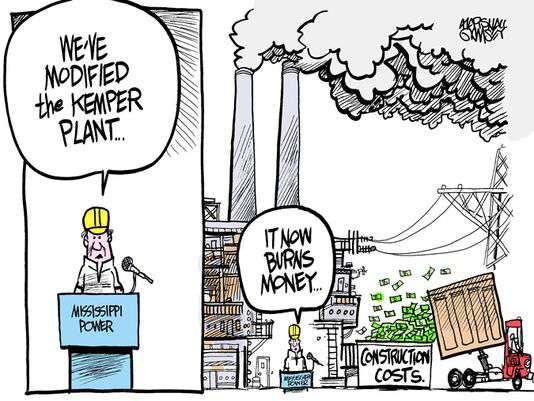 Kemper Cartoon in Clarion Ledger