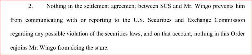 SEC Clause