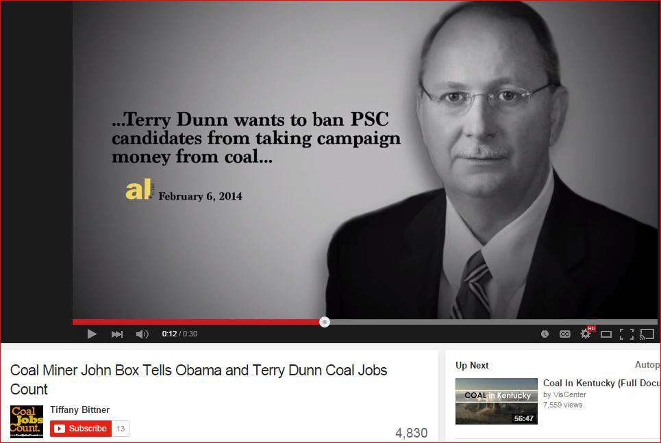 Coal Jobs Count Video With Dunn