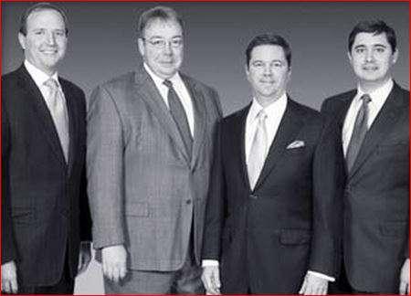 From left to right, Tim Howe, David Azbell, Dax Swatek, and John Ross.
