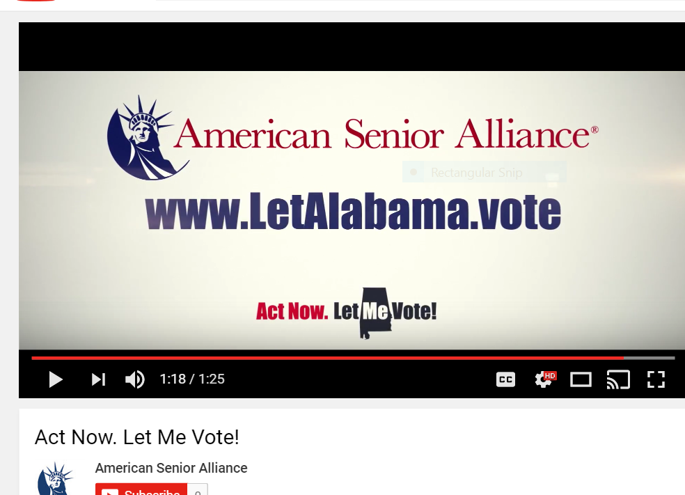 American senior alliance ad