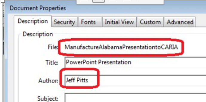 Pitts for Manufacture Alabama attact of extremists