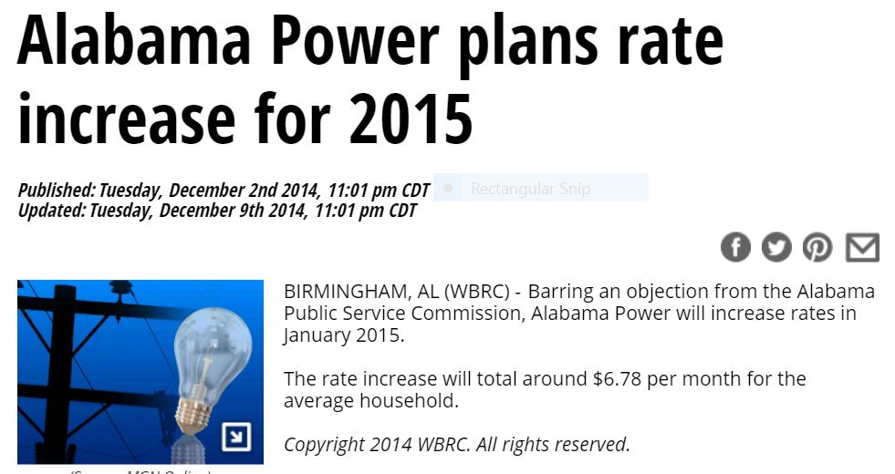 Rate Increase Headline