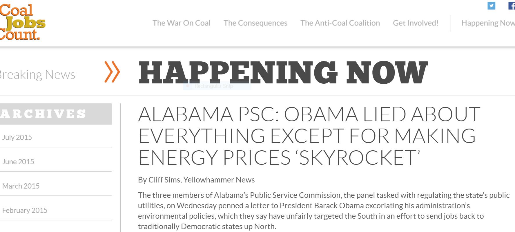 Yellowhammer on coal jobs two